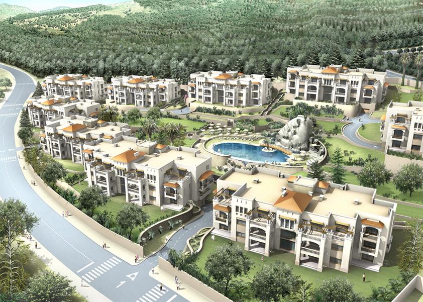 Promoteur, Immobilier , Tanger ,Projet Terrasse du golf