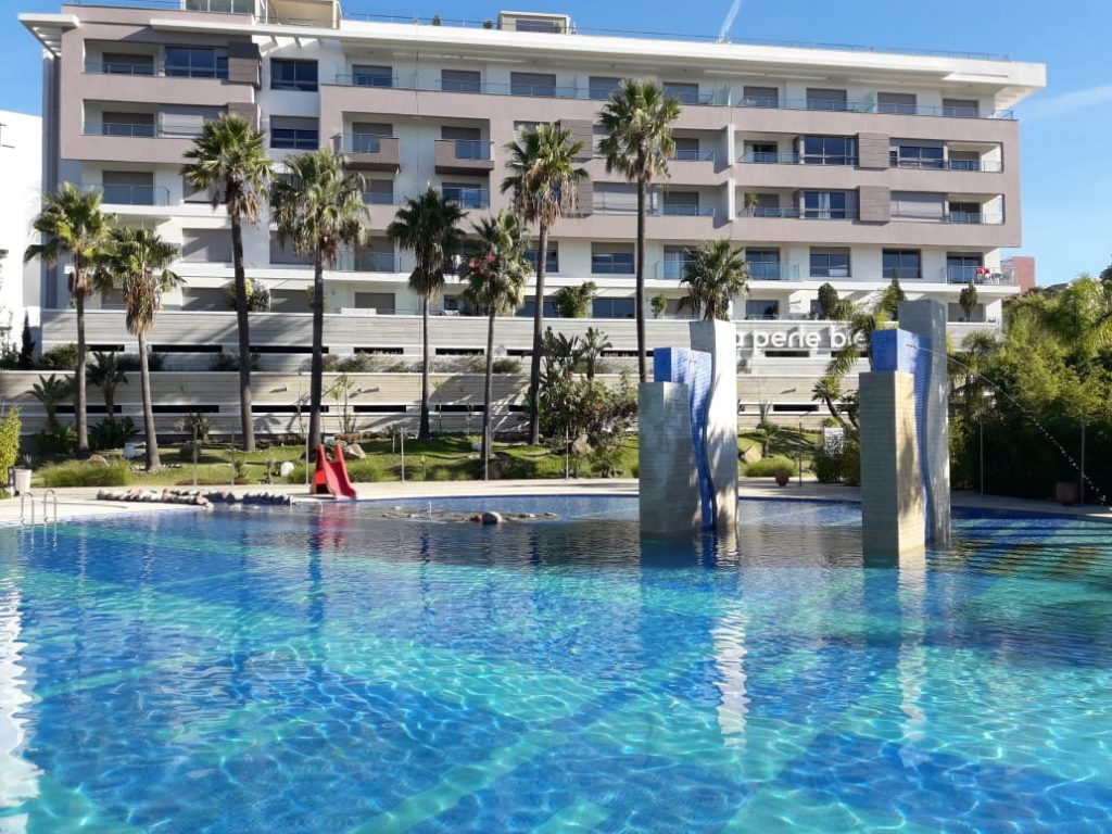 Complexe résidentiel, La perle blue, Tanger, projet immo