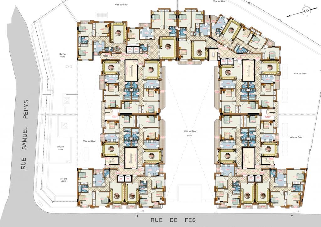 plan-general-shiraz-immobilier tanger
