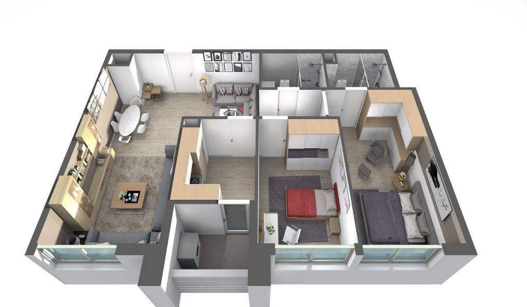 plan-king-peak-tower-immobilier-tanger