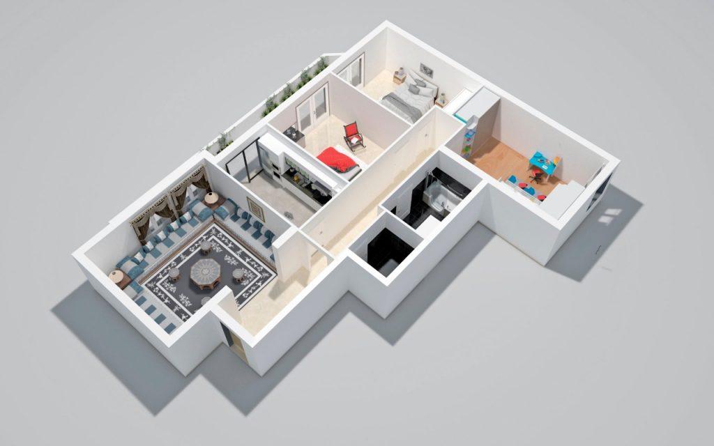 projet-residence-shiraz