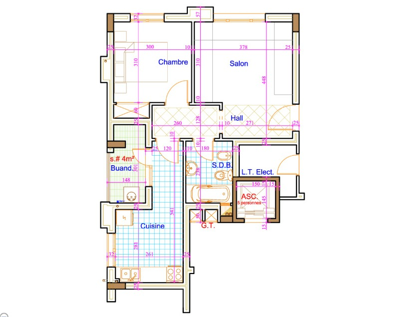projet-residence-shakira-tanger